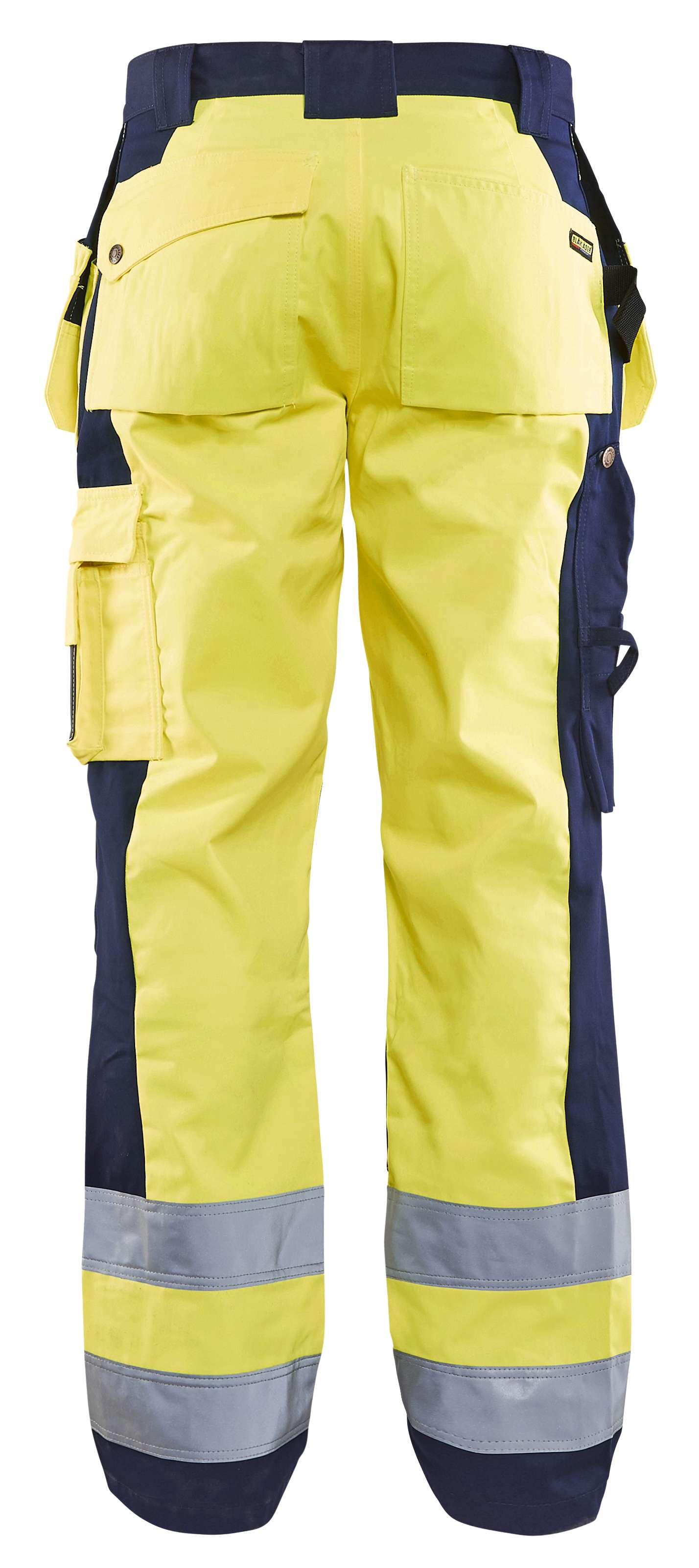 Blaklader Werkbroeken 15331860 High Vis geel-marineblauw(3389)
