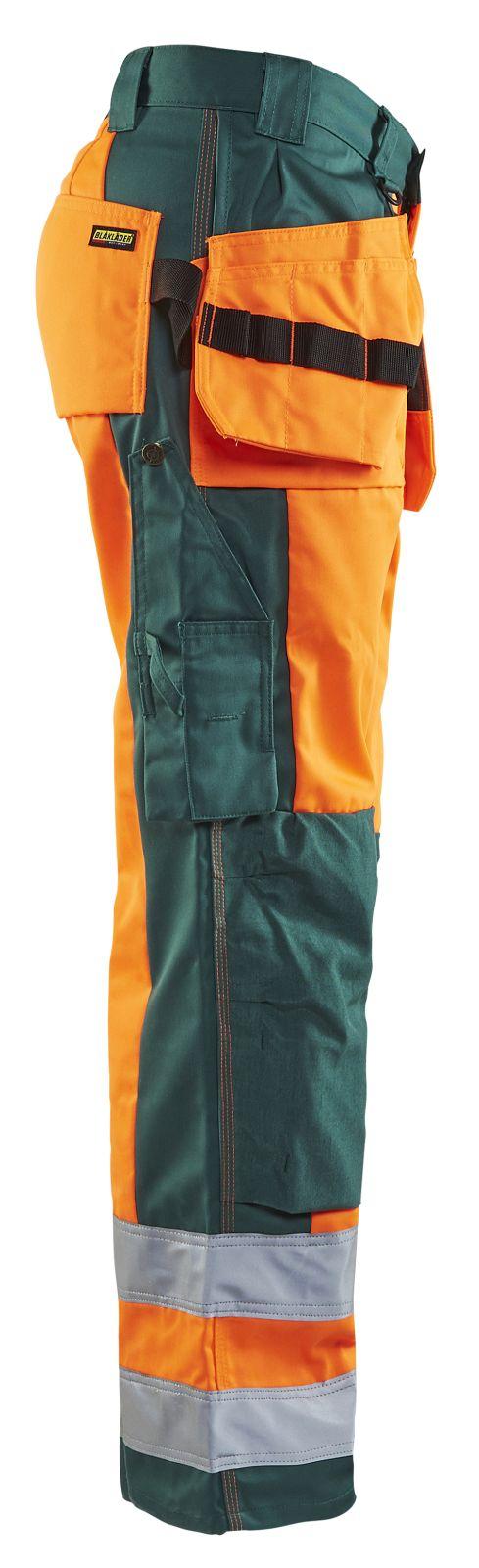 Blaklader Broeken 15331860 High Vis fluo oranje-groen(5349)