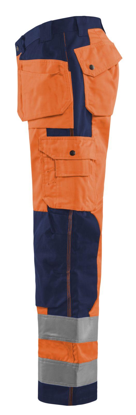 Blaklader Werkbroeken 15331860 High Vis oranje-marineblauw(5389)