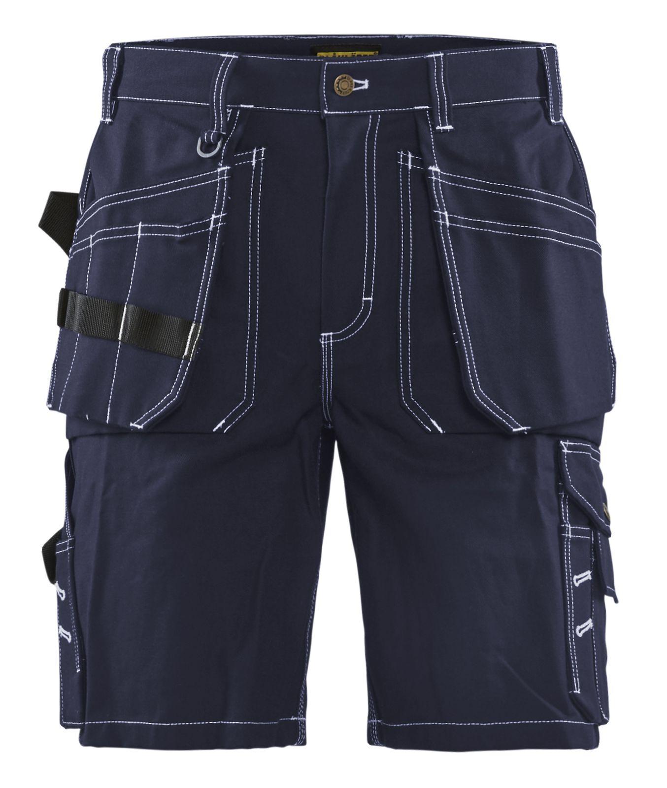 Blaklader Korte werkbroeken 15341370 marineblauw(8800)