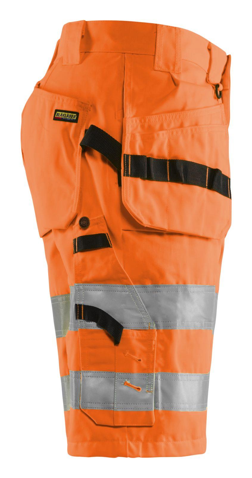 Blaklader Korte werkbroeken 15351804 High Vis fluo-oranje(5300)