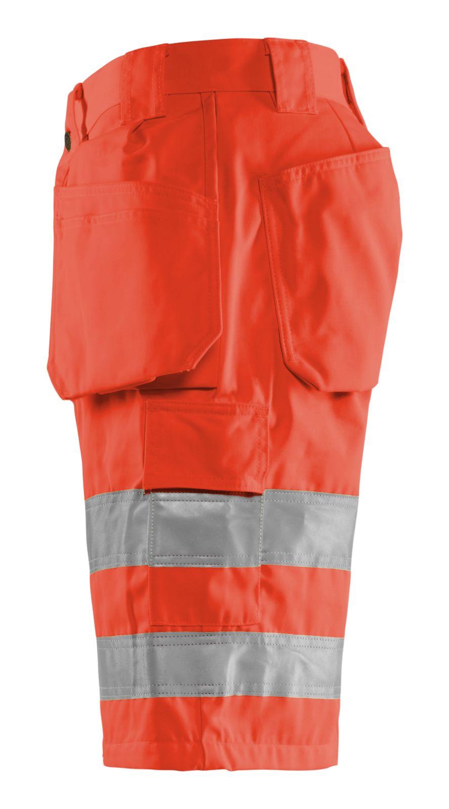 Blaklader Korte werkbroeken 15351804 High Vis fluor rood(5500)