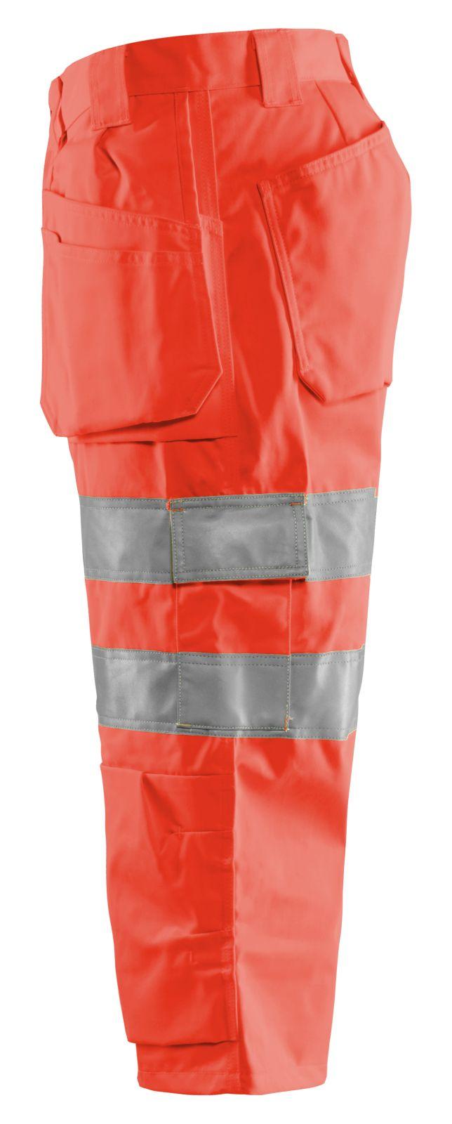 Blaklader Piraatbroeken 15391804 High Vis rood(5500)