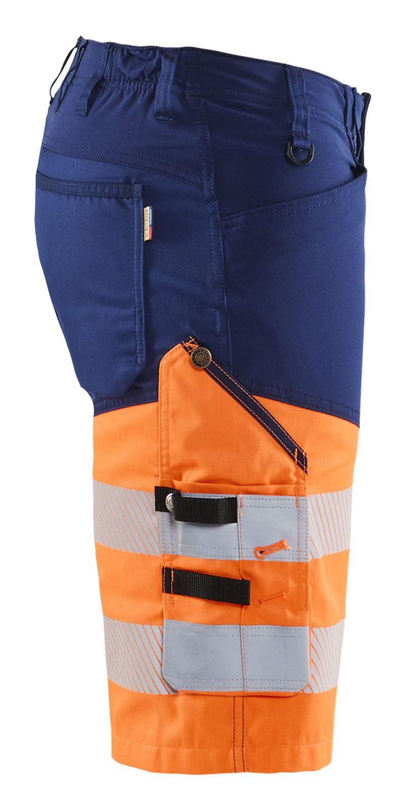 Blaklader Broeken 15411811 High Vis marineblauw-oranje(8953)