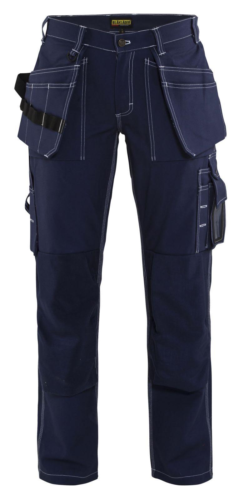 Blaklader Dames werkbroeken 15451370 marineblauw(8800)