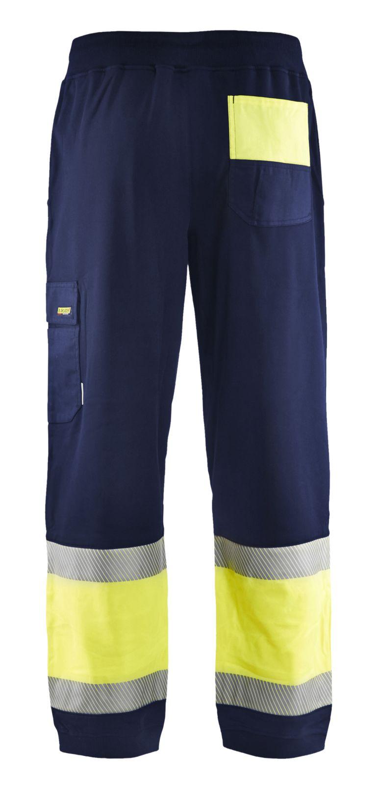 Blaklader Broeken 15492526 High Vis marineblauw-fluo geel(8933)