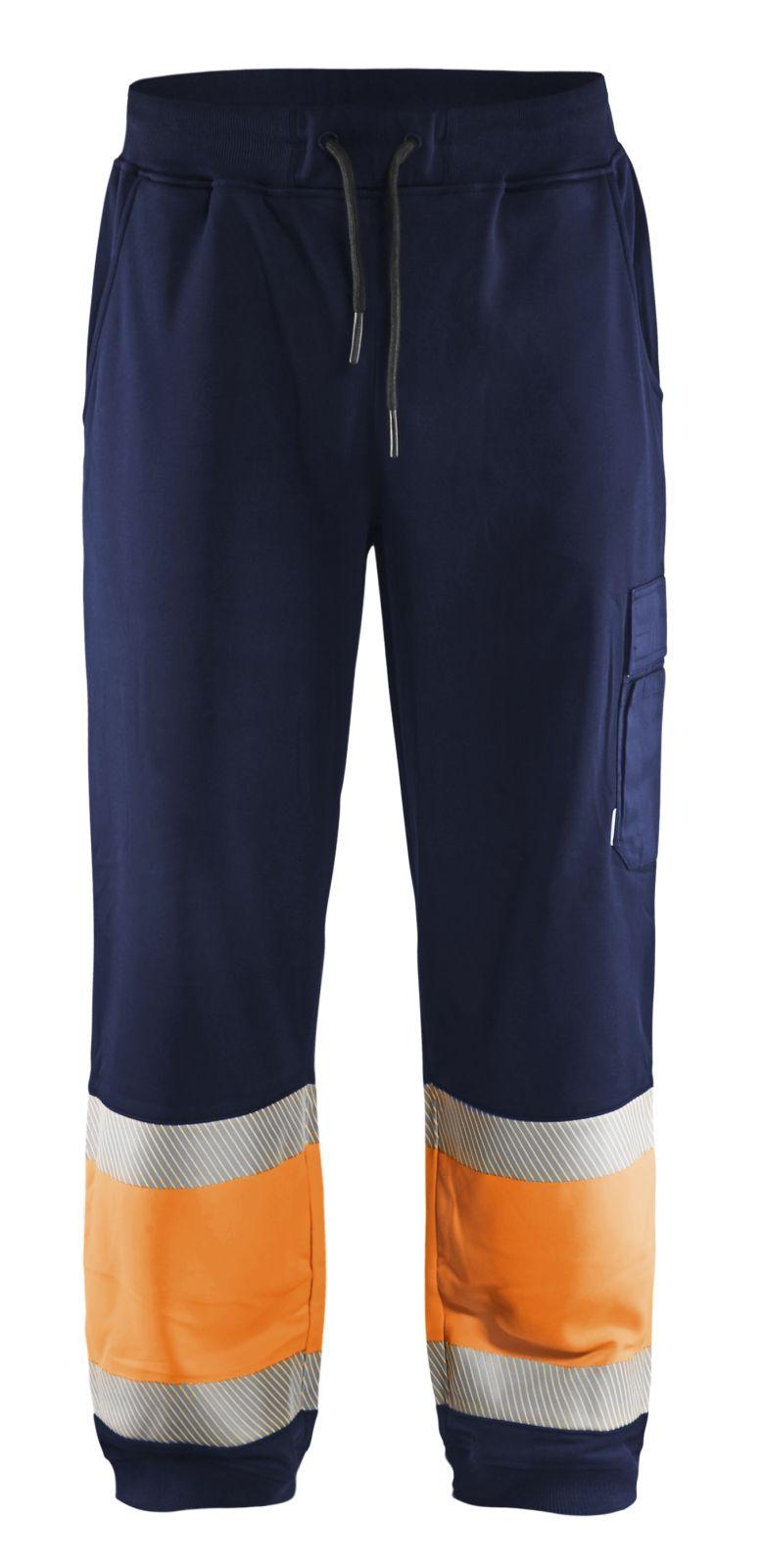 Blaklader Sweatbroeken 15492526 High Vis marineblauw-oranje(8953)
