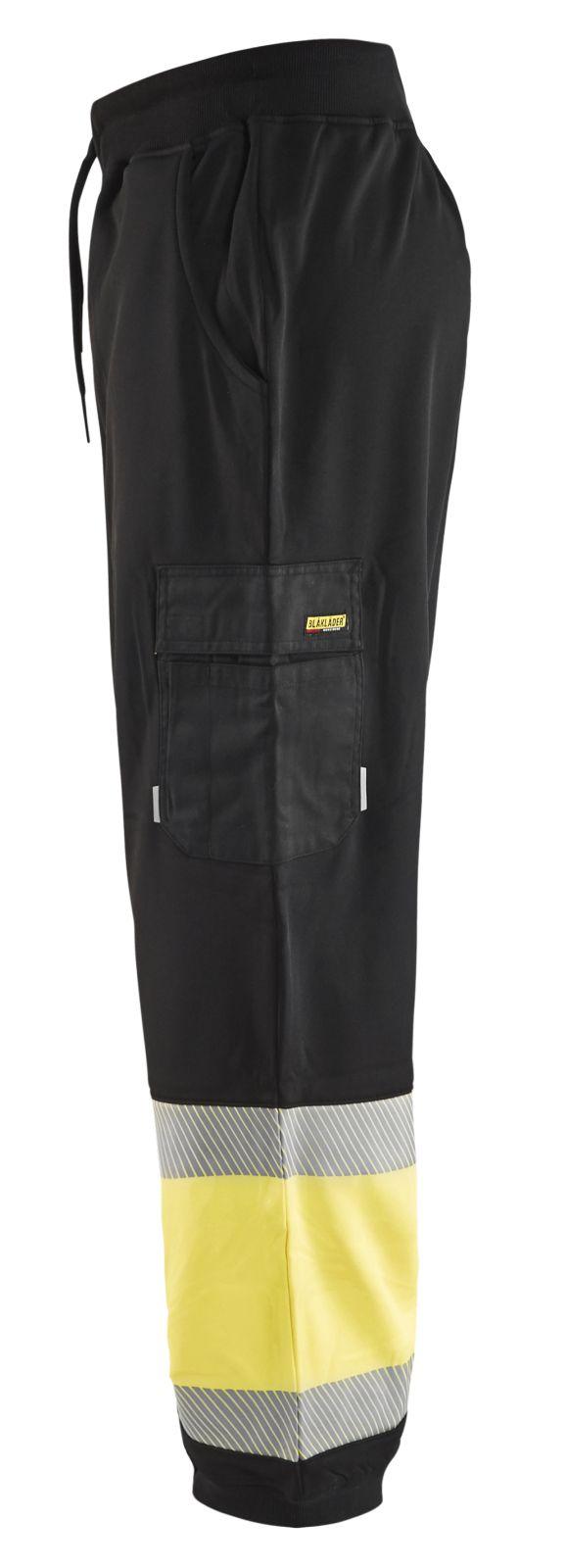 Blaklader Sweatbroeken 15492526 High Vis zwart-fluo geel(9933)