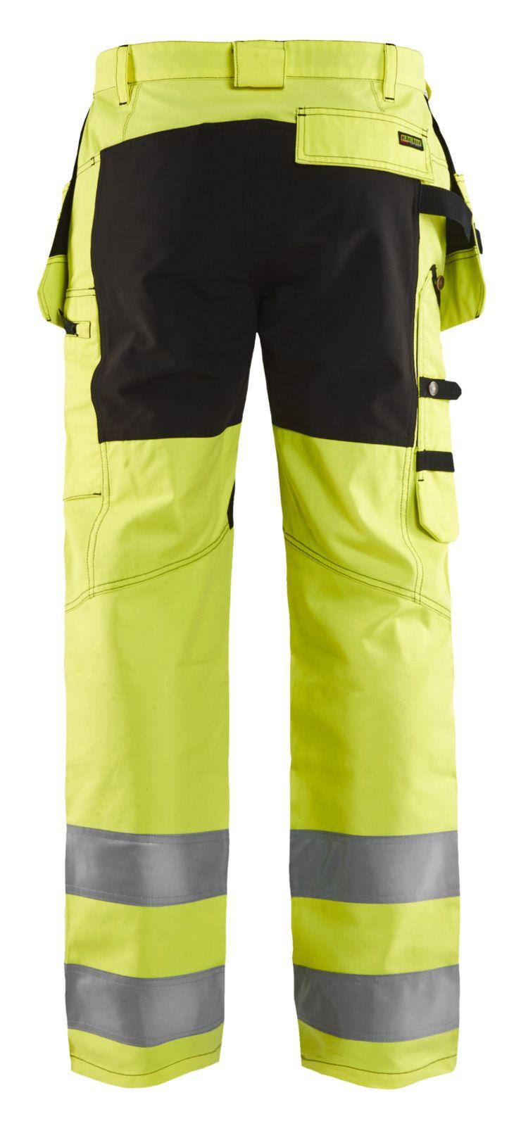 Blaklader Broeken 15521811 High Vis fluo geel-zwart(3399)