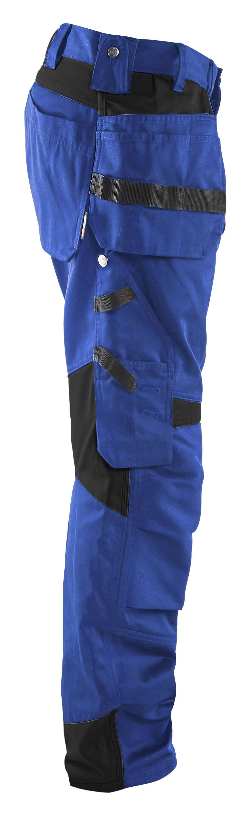 Blaklader Werkbroeken 15551860 korenblauw-zwart(8599)