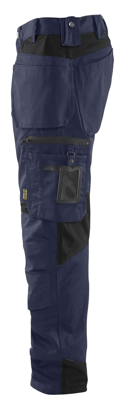 Blaklader Werkbroeken 15551860 donker marineblauw-zwart(8699)