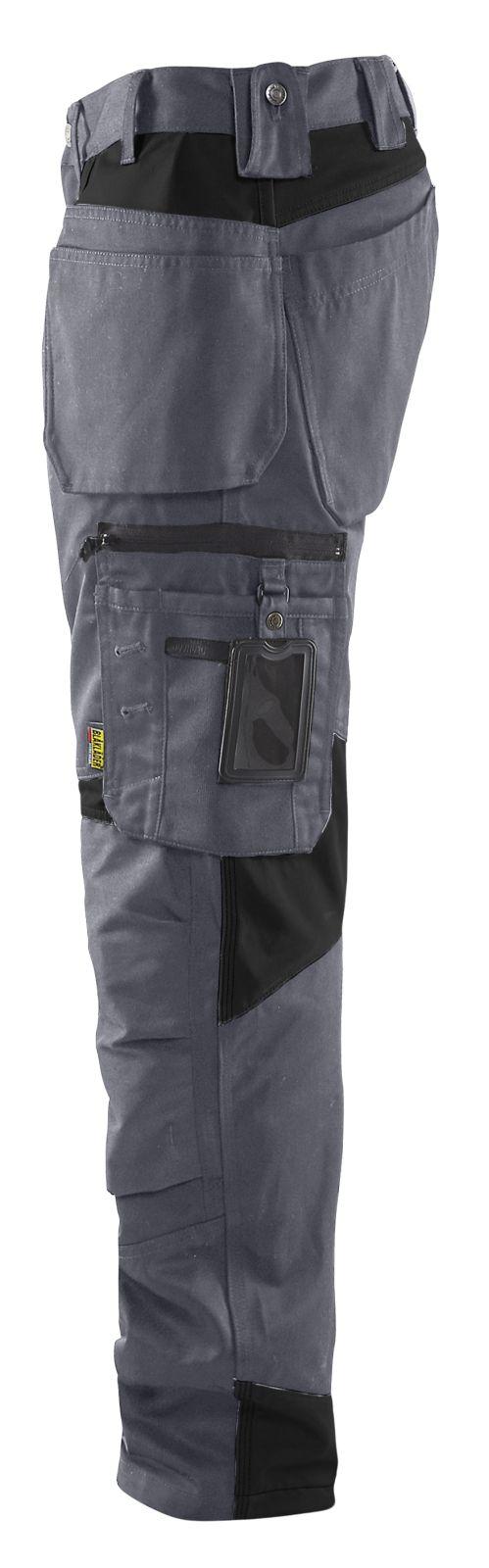 Blaklader Werkbroeken 15551860 grijs-zwart(9499)