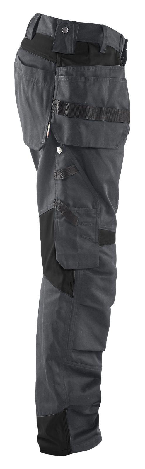Blaklader Werkbroeken 15551860 donkergrijs-zwart(9899)