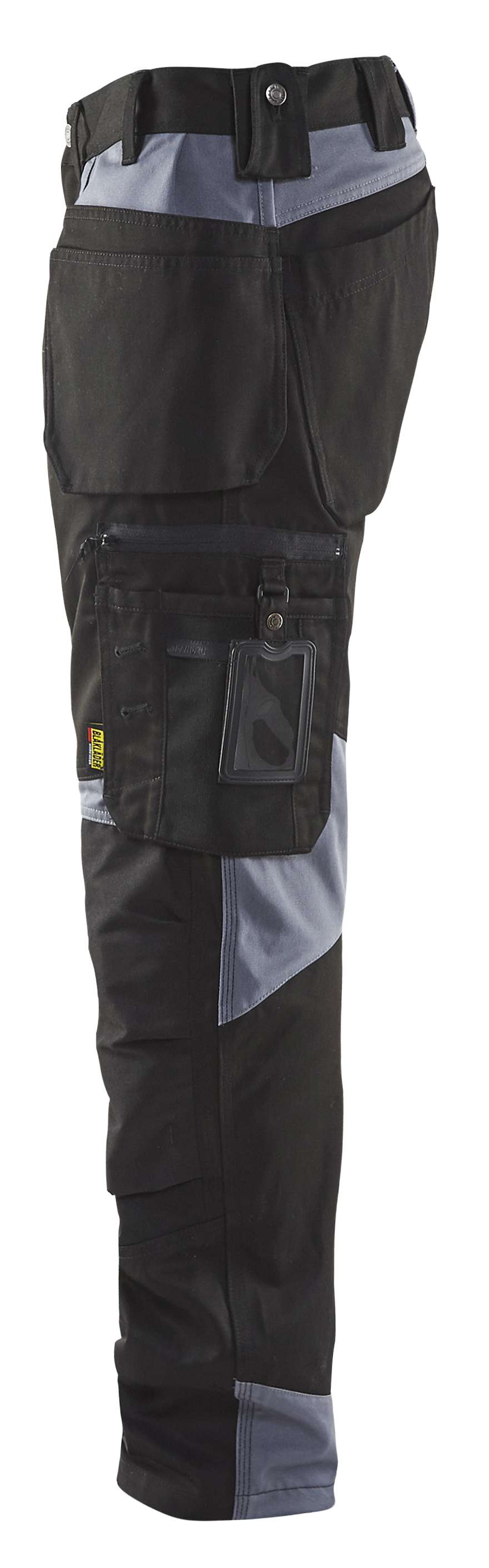 Blaklader Werkbroeken 15551860 zwart-grijs(9994)