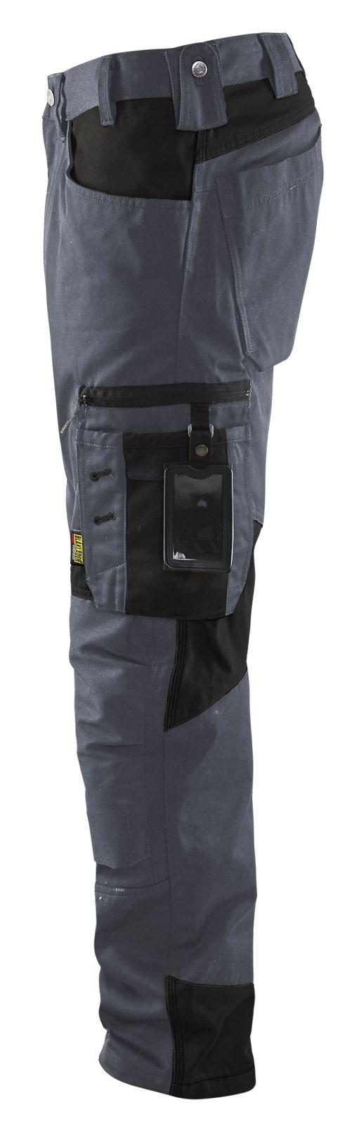 Blaklader Werkbroeken 15561860 grijs-zwart(9499)