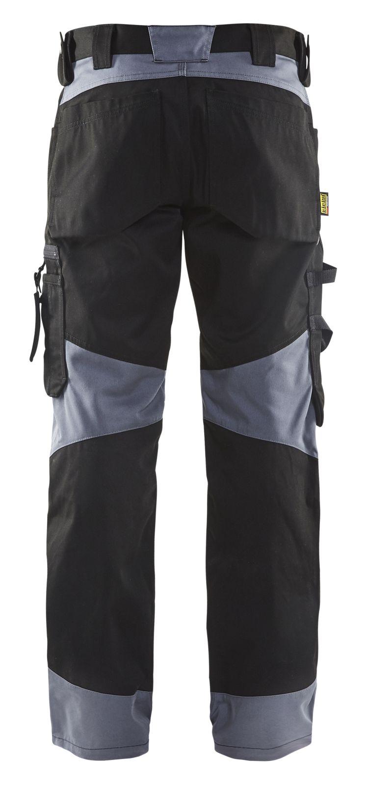 Blaklader Werkbroeken 15561860 zwart-grijs(9994)