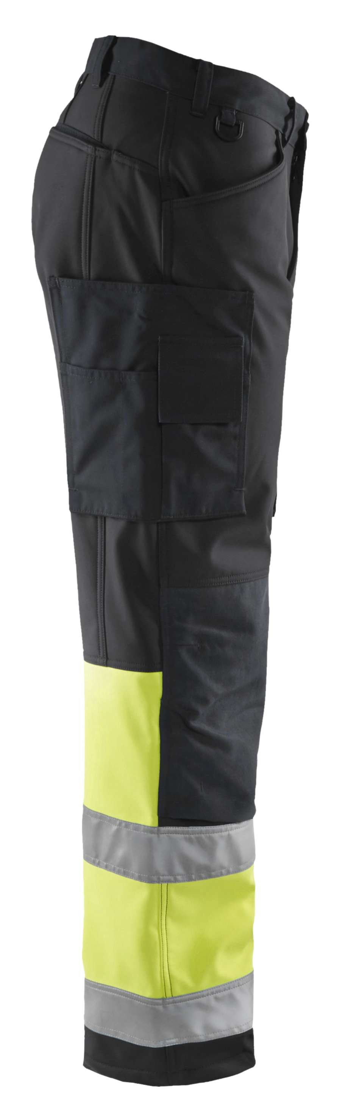Blaklader Softshell werkbroeken 15622517 High Vis zwart-geel(9933)