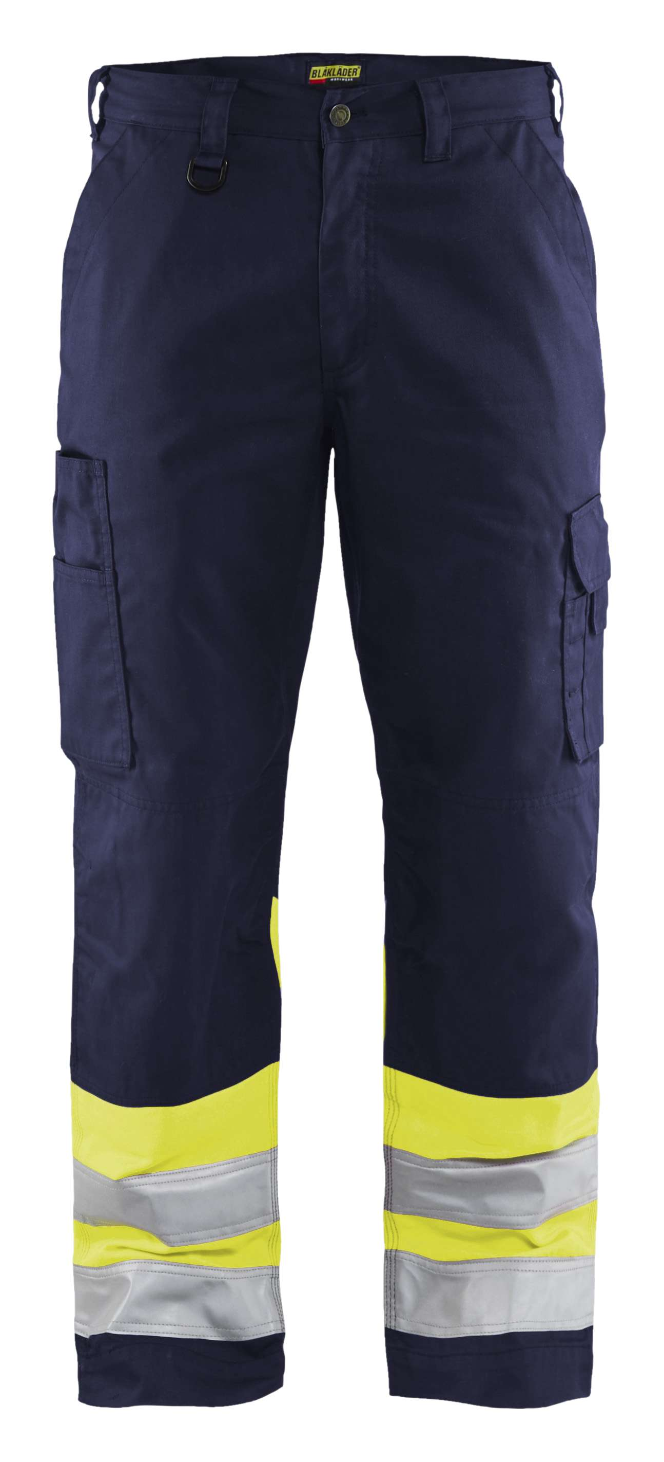 Blaklader Werkbroeken 15641811 High Vis marineblauw-geel(8933)