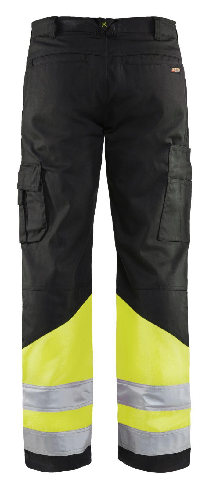 Blaklader Werkbroeken 15641811 High Vis zwart-geel(9933)