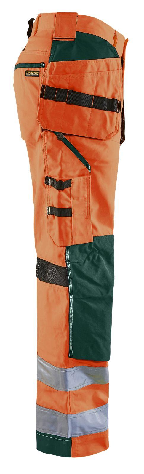 Blaklader Broeken 15651811 High Vis fluo oranje-groen(5349)