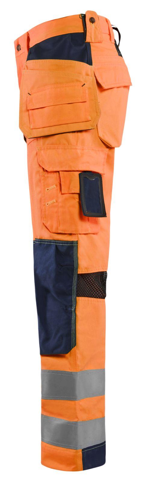 Blaklader Broeken 15651811 High Vis fluo oranje-marineblauw(5389)