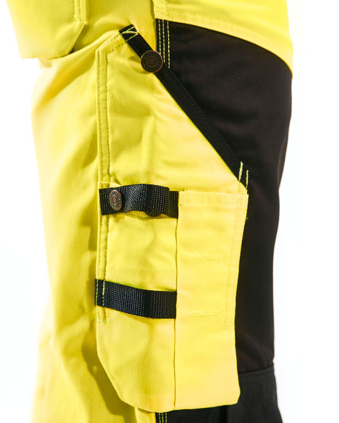 Blaklader Broeken 15661811 High Vis geel-zwart(3399)