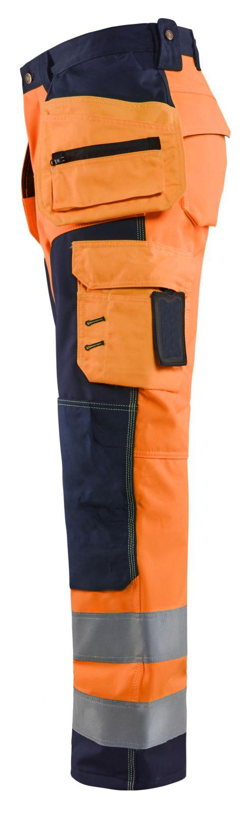 Blaklader Broeken 15672517 High Vis oranje-marineblauw(5389)