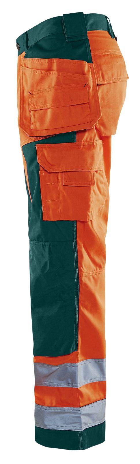 Blaklader Broeken 15681811 High Vis fluo oranje-groen(5349)