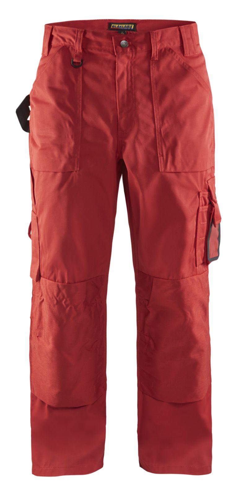 Blaklader Werkbroeken 15701860 rood(5600)