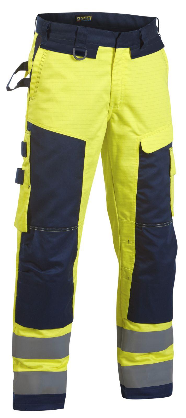 Blaklader Werkbroeken 15781506 Multinorm geel-marineblauw(3389)