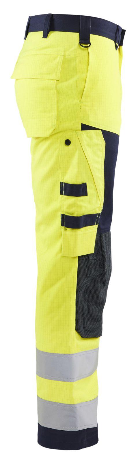 Blaklader Werkbroeken 15781514 Multinorm geel-marineblauw(3389)