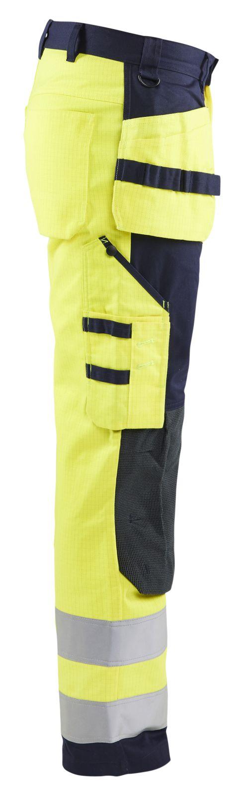 Blaklader Werkbroeken 15791514 Multinorm geel-marineblauw(3389)