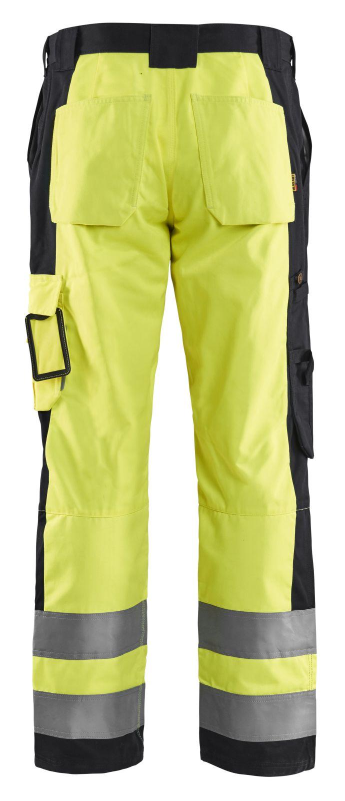 Blaklader Werkbroeken 15831860 High Vis geel-zwart(3399)