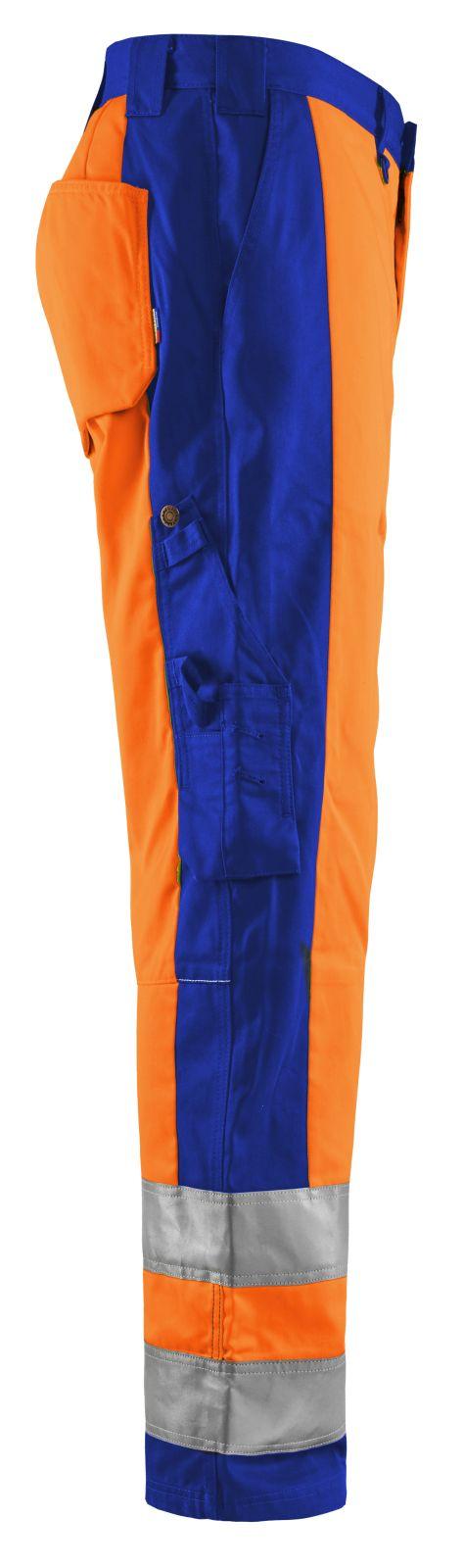 Blaklader Broeken 15831860 High Vis oranje-korenblauw(5385)