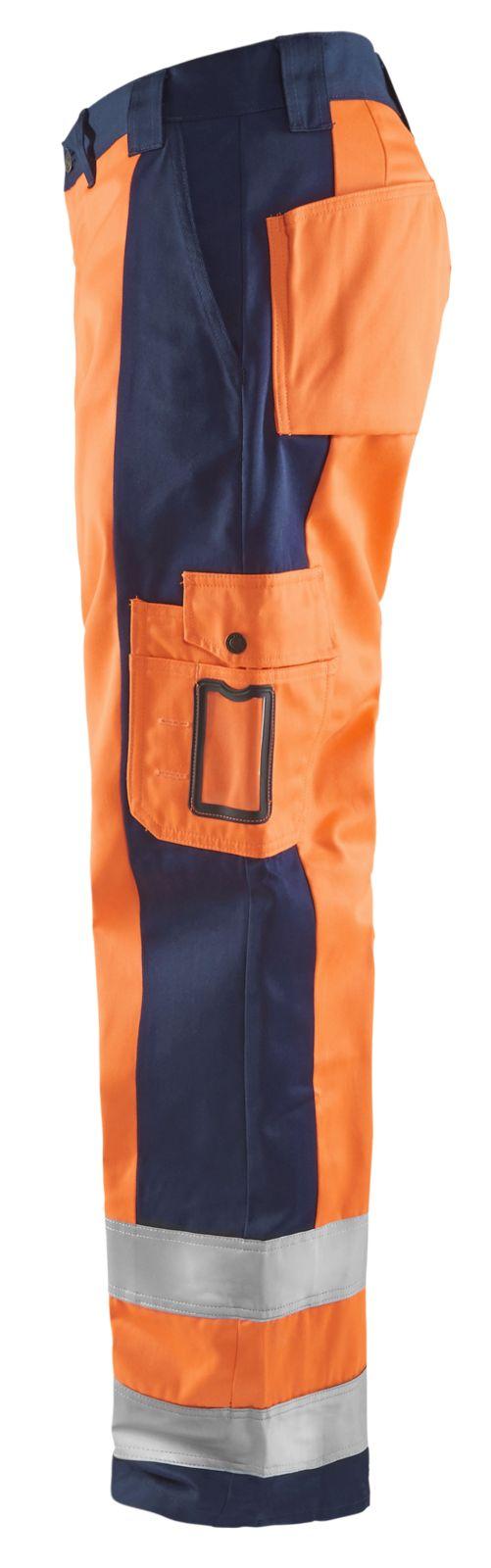 Blaklader Werkbroeken 15831860 High Vis oranje-marineblauw(5389)