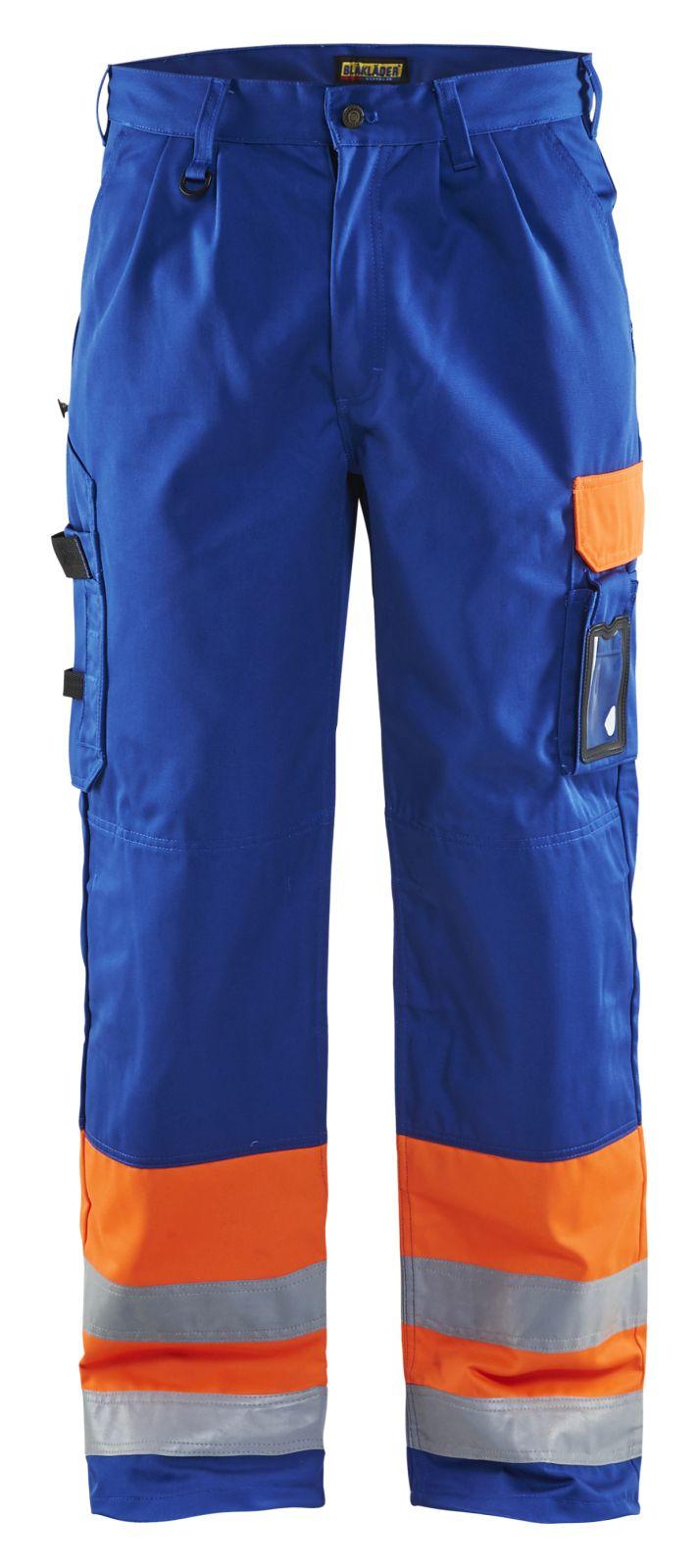 Blaklader Werkbroeken 15841860 High Vis oranje-korenblauw(5385)