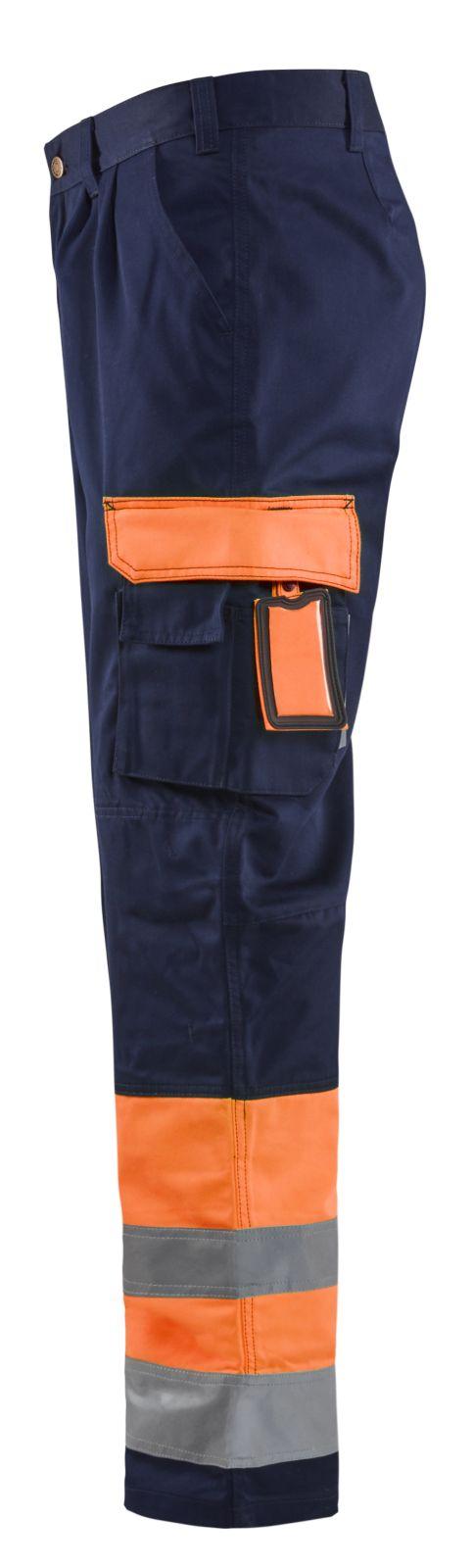 Blaklader Werkbroeken 15841860 High Vis oranje-marineblauw(5389)