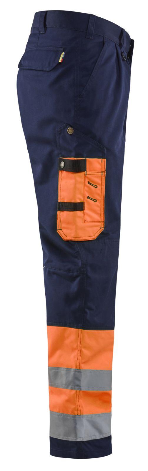 Blaklader Broeken 15841860 High Vis oranje-marineblauw(5389)