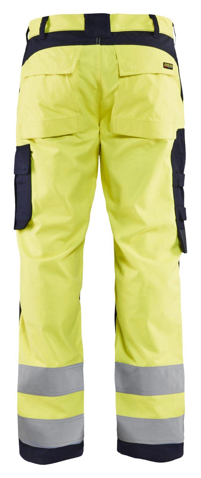 Blaklader Broeken 15881512 Multinorm geel-marineblauw(3389)