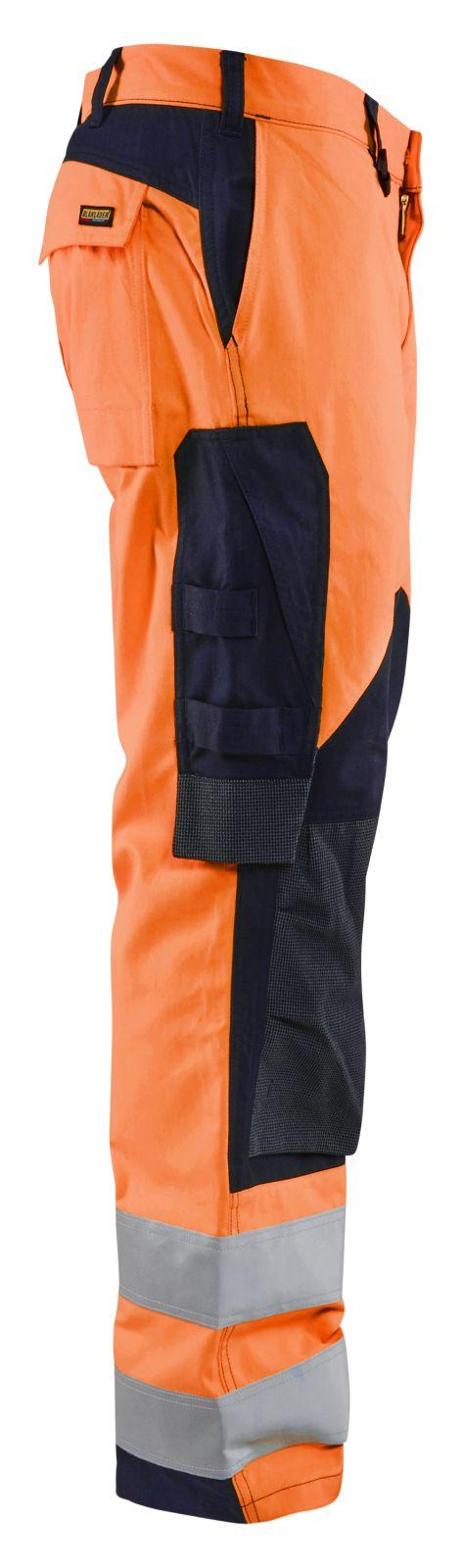 Blaklader Broeken 15881513 Multinorm fluo oranje-marineblauw(5389)