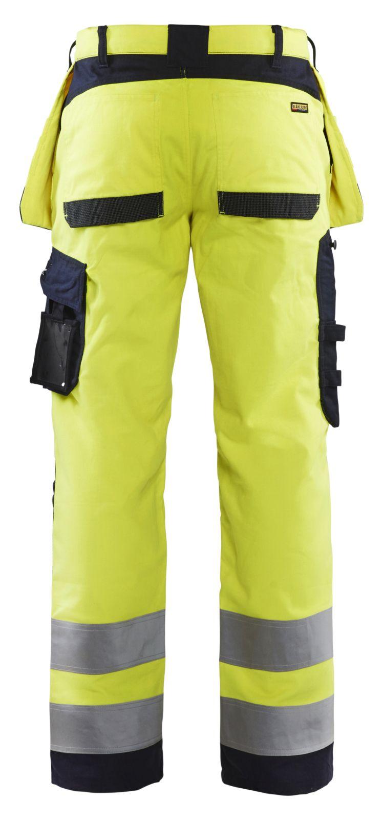 Blaklader Werkbroeken 15891512 Multinorm geel-marineblauw(3389)