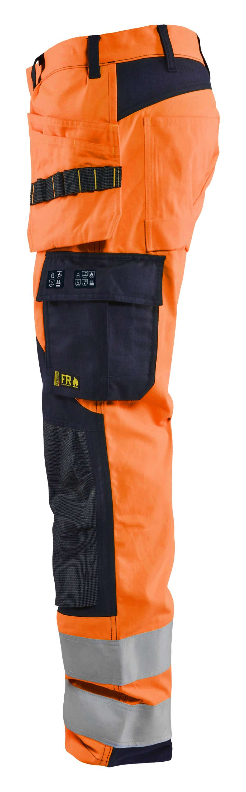 Blaklader Broeken 15891513 Multinorm fluo oranje-marineblauw(5389)