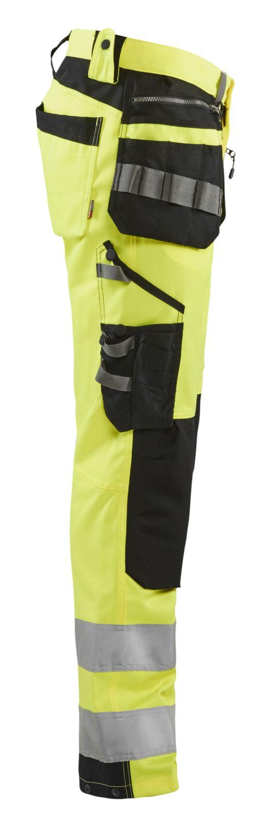 Blaklader Broeken 15921818 fluo geel-zwart(3399)