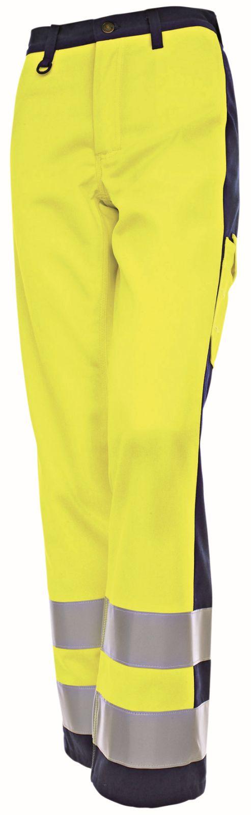 Blaklader Dames werkbroeken 15931804 High Vis geel-marineblauw(3389)