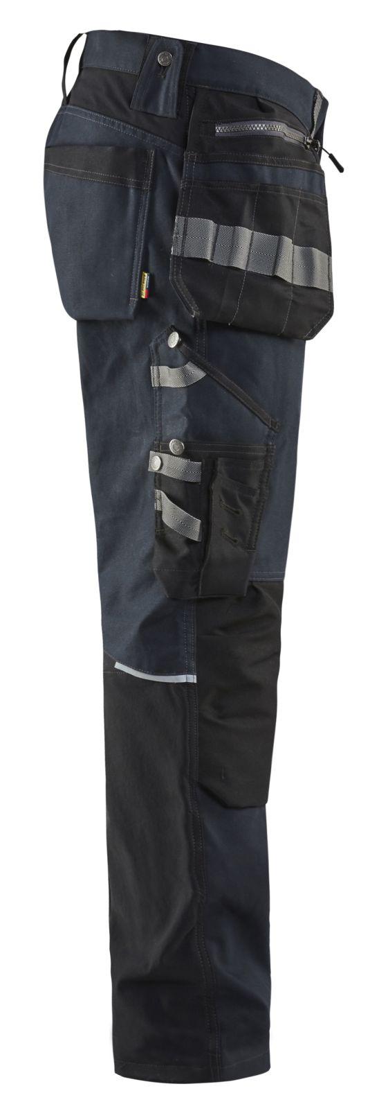 Blaklader Broeken 15991343 donker marineblauw-zwart(8699)