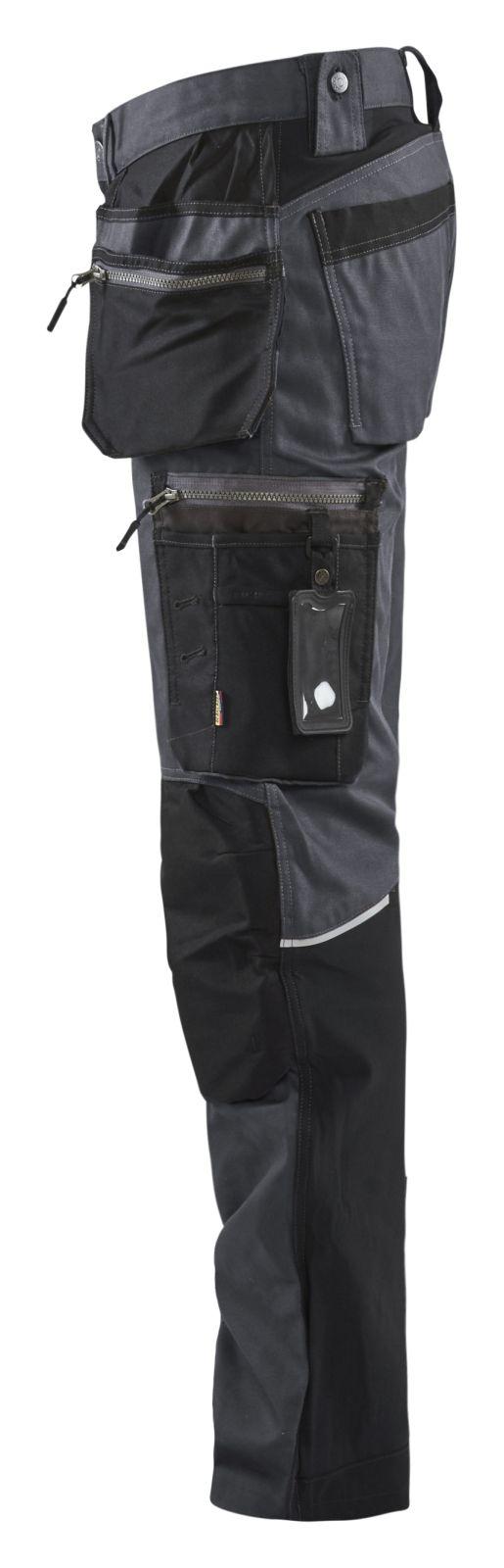 Blaklader Broeken 15991343 donkergrijs-zwart(9899)