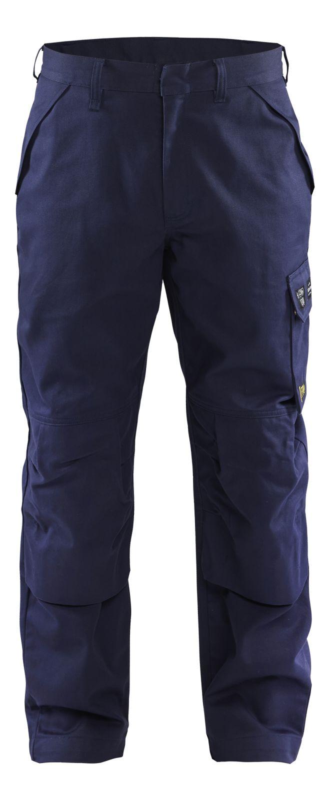 Blaklader Werkbroeken 17241516 Vlamvertragend marineblauw(8900)