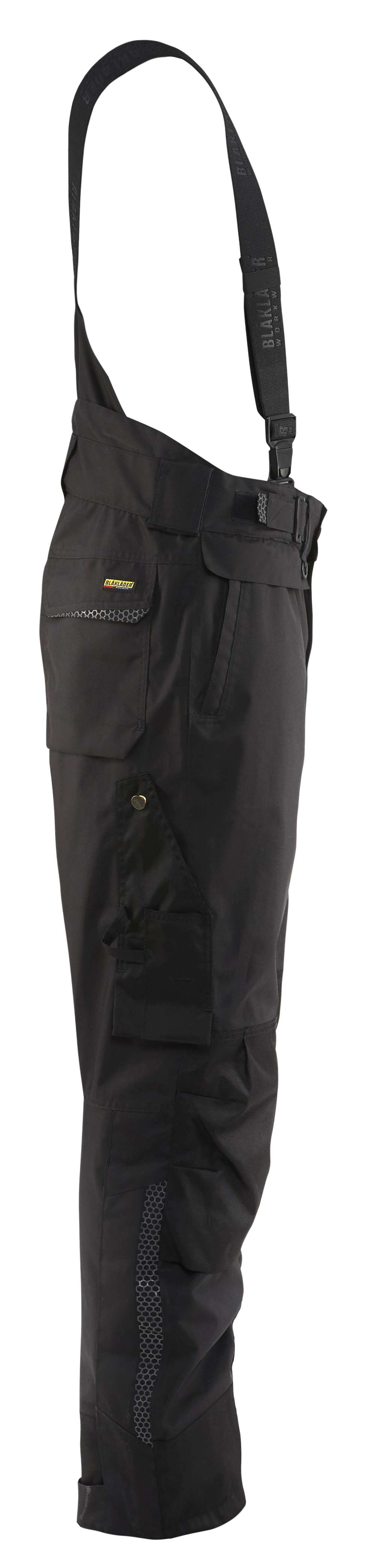 Blaklader Regenbroeken 18091977 Losse bretels zwart(9900)