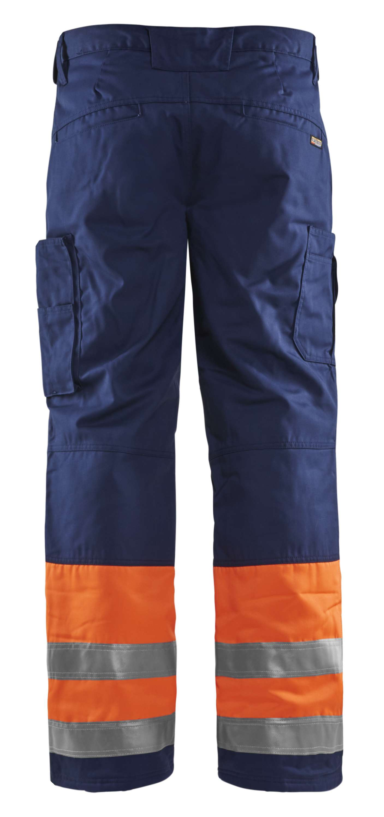 Blaklader Winterbroeken 18621811 High Vis oranje-marineblauw(5389)