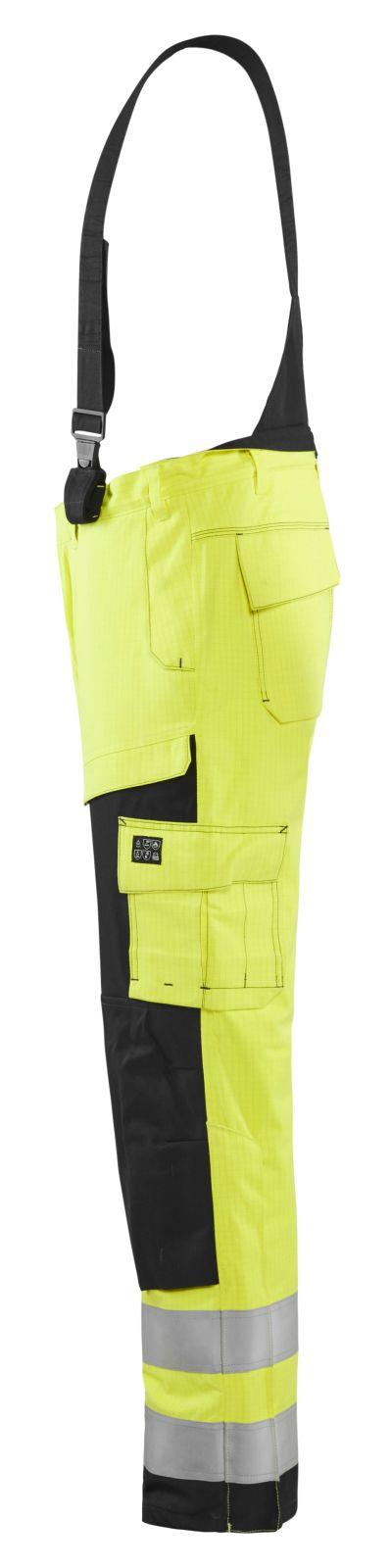 Blaklader Winterwerkbroeken 18681530 Multinorm geel-marineblauw(3389)